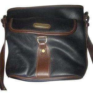 *Liz Claiborne Vintage Black Messenger Bag